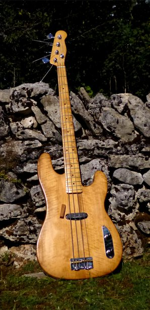Flamed alder body